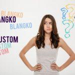 Perbedaan Undangan Custom & Blangko